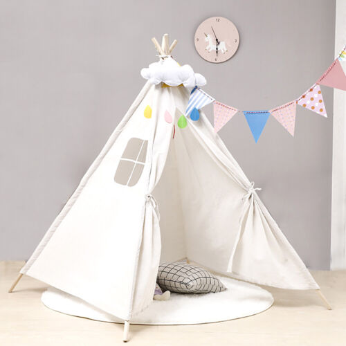 Indoor Indian Playhouse Toy Teepee Play Tent for Kids Toddle