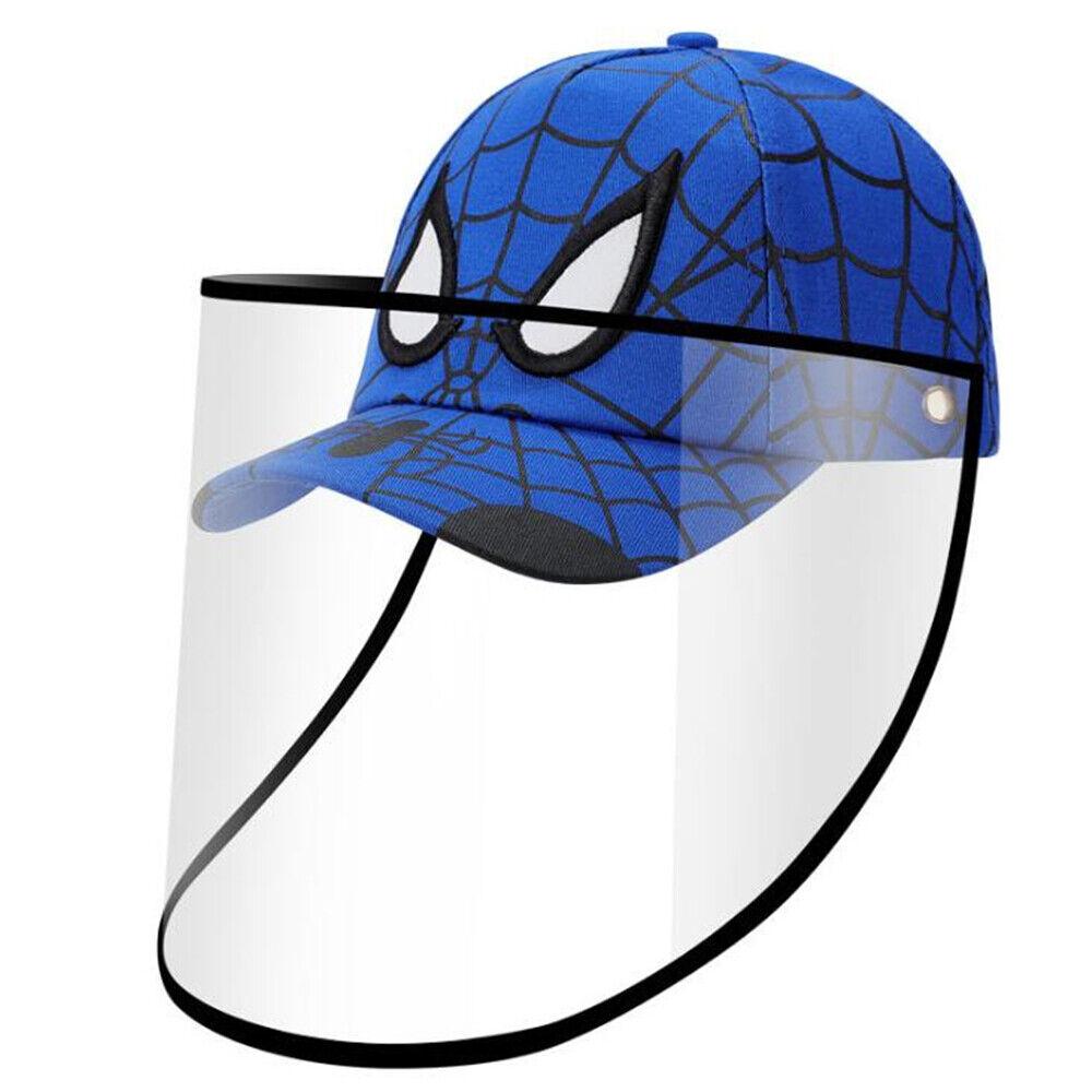 Baseball Cap Protective Hat  Full Face Shield for Kids