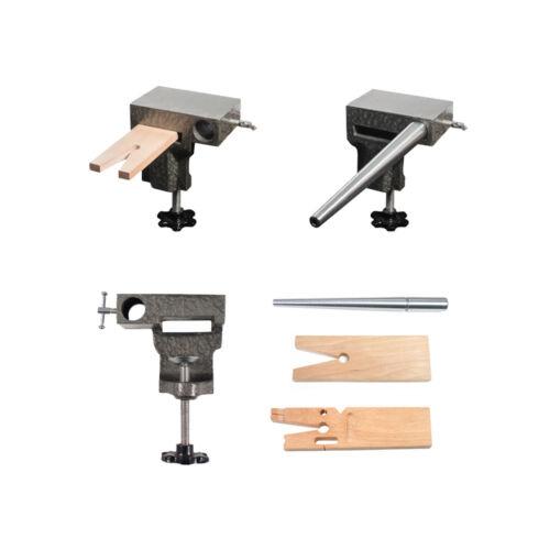 Bench Anvil Basic Combo Kit -Ring Mandrels, Anvil, And V Slot Bench Pin SFC Tool
