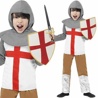 Jungen Schreckliche Geschichten Ritter Mittelalter Kostüm st Georg - St George Kostüm Kind