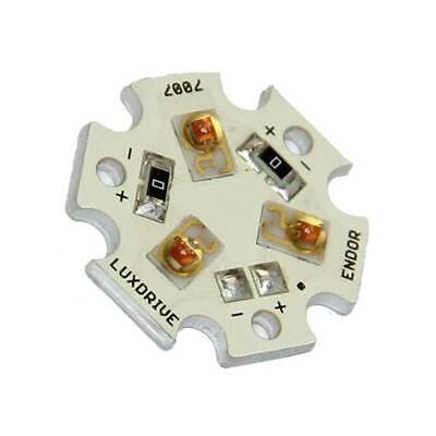 Luxeon Rebel Pc Amber Led Star Board 3-up