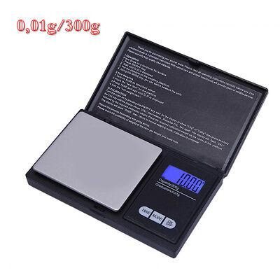 300g/0,01g Feinwaage Digitalwaage Goldwaage Küchenwaagen Electronic Taschenwaage