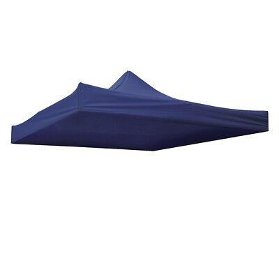 EZ Pop Up Canopy Top Replacement Patio Outdoor Tent Fit 10x10ft(Blue Cover Only)