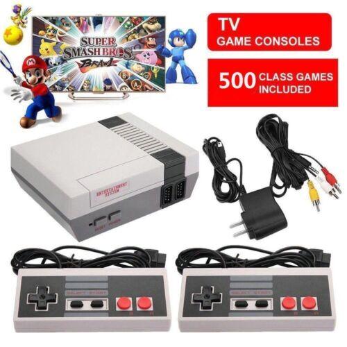 Mini Retro TV Video Handheld Game Console Built-in 500 Classic Games for NES