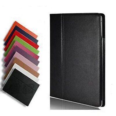 New iPad 4 iPad 2 3 Folio Magnetic PU Leather Case Slim Cover Stand Multi-Color