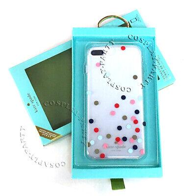 Kate Spade iPhone 7 Plus & iPhone 8 Plus Case Cover - Confetti Dot Multi / Clear
