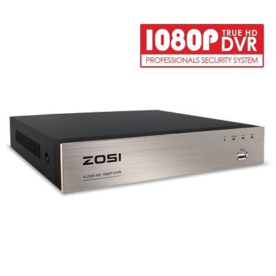 ZOSI Security DVR 8CH Channel 1080p Standalone Recorder for CCTV Camera -