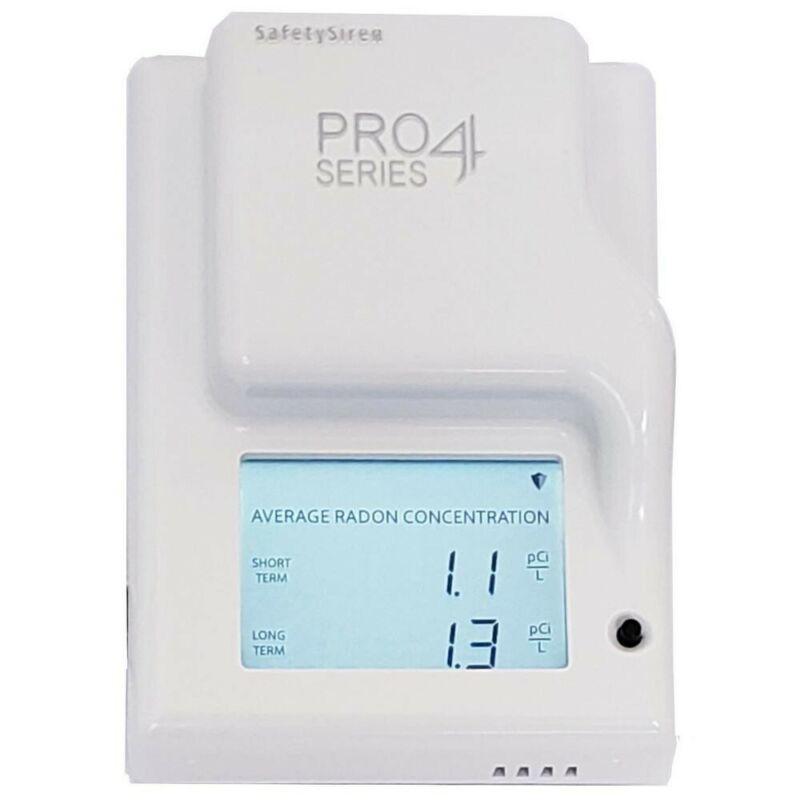 SafetySiren Pro Series 4 Radon Gas Monitor