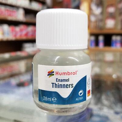 HUMBROL Enamel Thinner - 28ml Bottle AC7501 - FREE SHIPPING