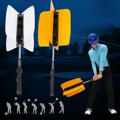 Golf Club Swing Pinwheel Power Fan Resistance Practice Training Aid Grip (Golf Training Club)