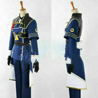 Touken Ranbu Online Nakikitsune Full Set Uniform Game Cosplay Costume Halloween(