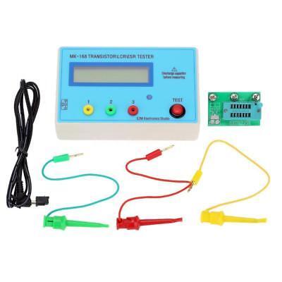 Mk-168 Lcr Transistor Tester Triode Capacitance Resistance Meter Esr Mos Pnp Npn