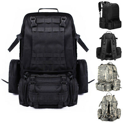 L- Outdoor Sports BAG Travel Tactical Military Backpack Black/ACU Free Shipping