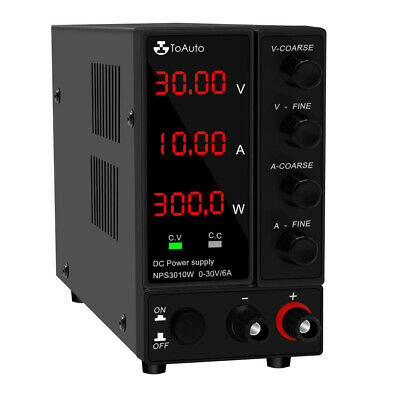 30v 6a10a Dc Power Supply Variable Adjustable Regulated Dc Bench Switching Usb