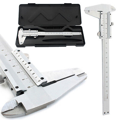 "6"" 150mm Stainless Steel 150mm Vernier Caliper Gauge Micrometer Measuring Tool"
