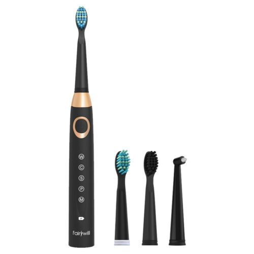 Fairywill  Electric Toothbrush Rechargeable  Soft Bristles f