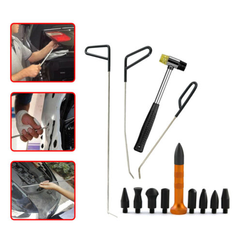 1× Paintless Dent Repair PDR Push Rods 22.83/'/' Tools Whale Tail Set Hail Removel