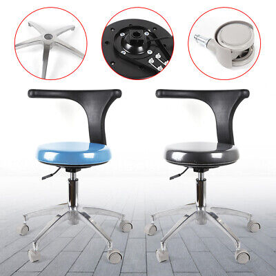 Professional Dental Assistant Stool Medical Doctor Chair Pu Leather Adjustable