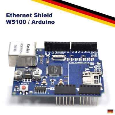 W5100 Ethernet Lan Netzwerk Shield Fr Arduino Uno Mega2560 Wiznet Rj45 Board