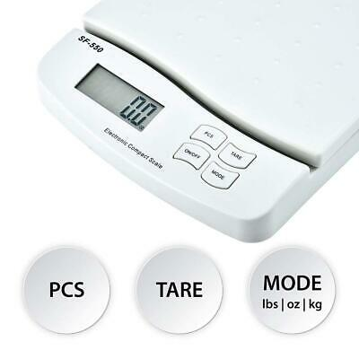 55lb X 0.1oz Digital Postal Shipping Scale Electronic Weight Postage Scale