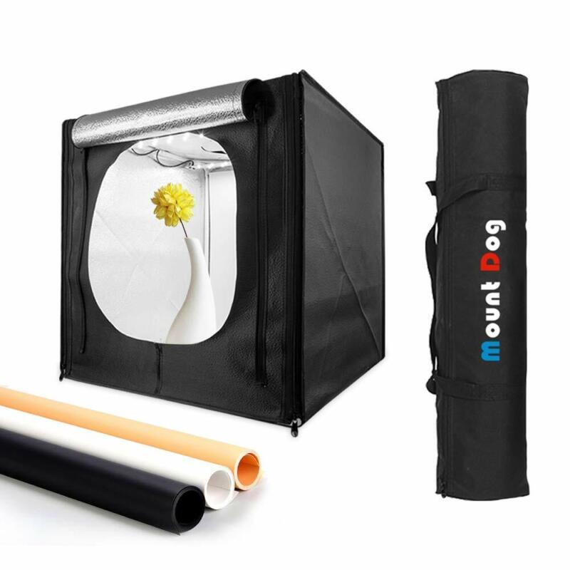 TYCKA 80cm Photo Studio LED Light Box Portable Photography Shooting Tent