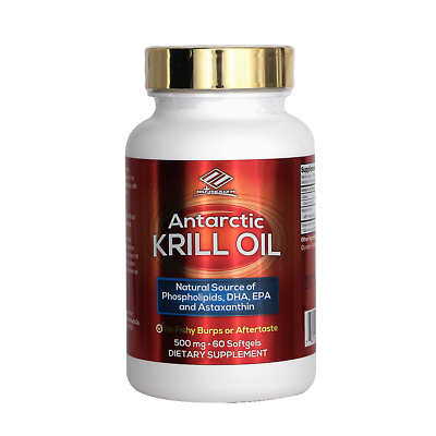 Antarctic Krill Oil Dietary Supplement
