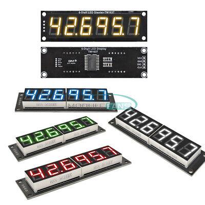 Digital 0.56 Inch 6-digit 7-segment Led Display Tm1637 Tube Module 5 Colors