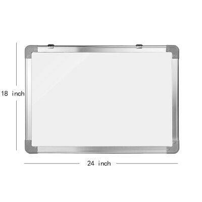 Magnetic Whiteboard Office School Home Dry Erase Writing White Board 18 X 24