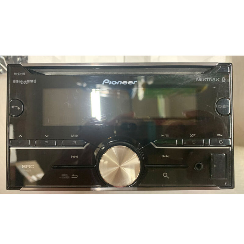 Pioneer FH-S701BS 2-DIN CD Receiver with Bluetooth, SiriusXM Ready, and MIXTRAX