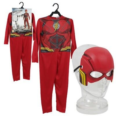DC Justice League The Flash Kid's Costume Halloween Cosplay Dress Up](Kid Flash Halloween Costume)