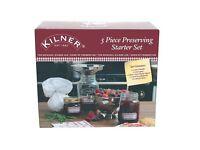 Kilner 5 Piece Preserving Starter Set - Jam / Chutney Making Kit - NEW