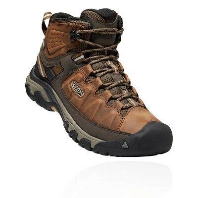 Keen Mens Targhee III Mid Waterproof Walking Boots Brown Sports Outdoors
