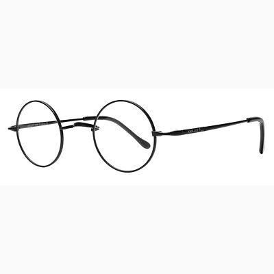 Jahrgang Brillengestelle Runden Reines Titan Retro Brille Herren Damen Frauen