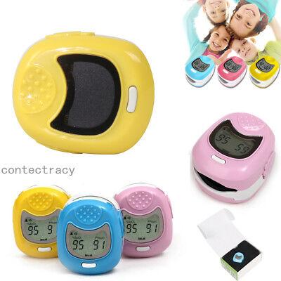 Baby Finger Pulse Oximeter Pediatric Oximetro De Dedo Spo2 Pr Led Rechargeable