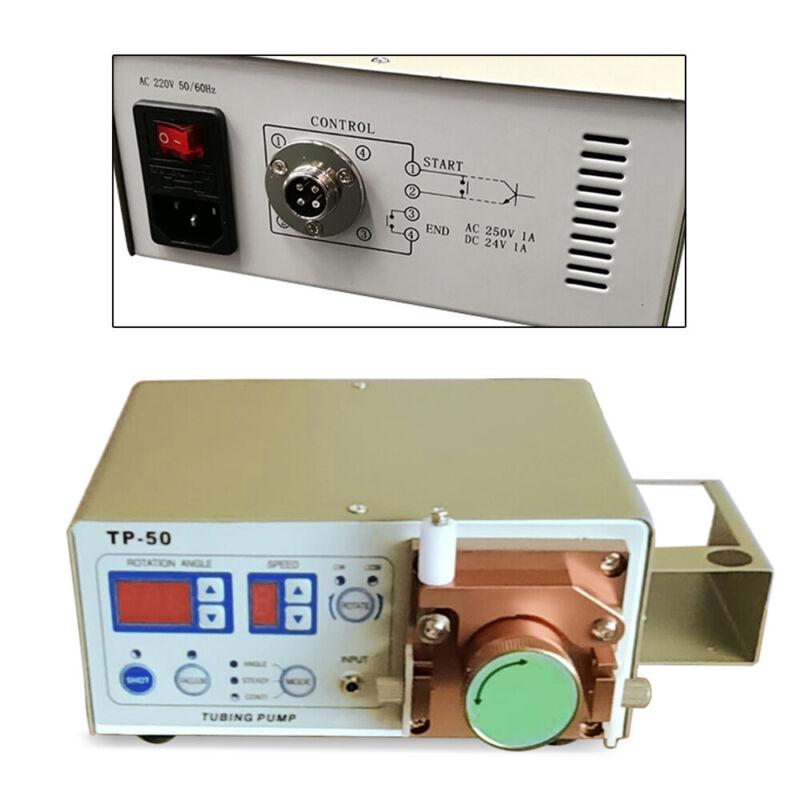 TP-50 Peristaltic Digital Display Dispenser Foot Switch+Tube Dispensing Pen