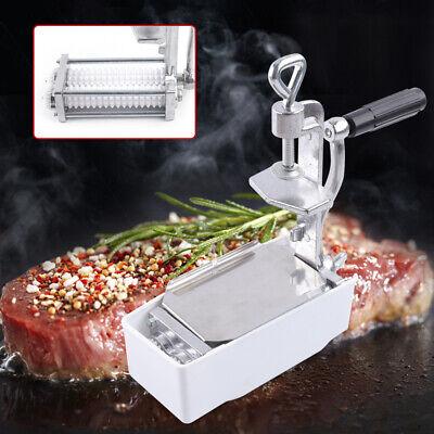 Commercial Kitchen Cast Iron Meat Tenderizer Heavy Duty Steak Flatten Beef Clamp