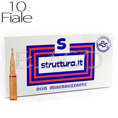 TRATTAMENTO OLIO MINERALIZZANTE 10 FIALE STRUTTURA RISTRUTTURANTE CAPELLI