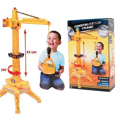 Baukran Spielzeug Spielkran Spielzeugkran Kinderkran Fernsteuerung 63 cm