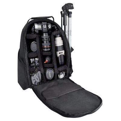 XIT Pro Camera Backpack Waterproof Camcorder Case Bag for Canon Nikon Sony