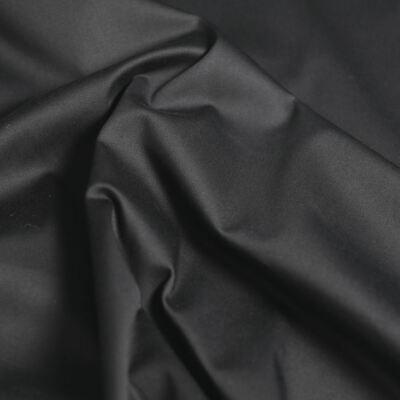 Segeltuch Baumwoll-Stoff Hose -Jacke Segeltuch glatt zum Nähen schwarz Meterware - Segeltuch-jacke