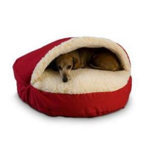 NEW Snoozer 87401 X-Large Cozy Cave, Red