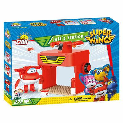 Cobi 25133 Super Wings Jett's Station Construction Set 272pcs - 5+