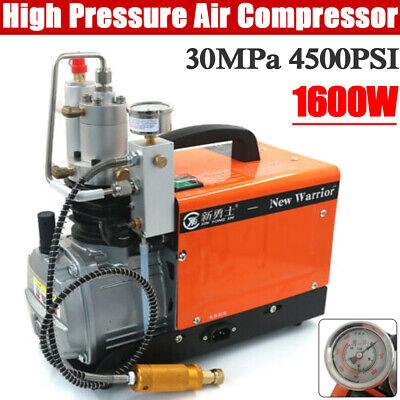 30mpa 4500psi High Pressure Air Compressor Pump Pcp Electric Air Pump 2-stage