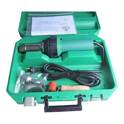 110v 1600w Easy Grip Hand Held Plastic Pvc Hot Air Welding Gun Welder Pistol Kit