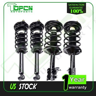 All4 Complete Strut  Coil Springs Quick Install For 02 03 Nissan Maxima