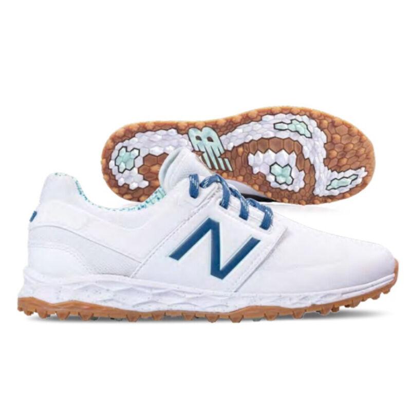 New Balance Ladies Fresh Foam Links SL Golf Shoes - White/Blueprint