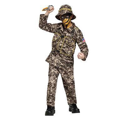 Boys Desert Commando Costume Size Small 4-6