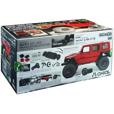 New Axial SCX10 II 2017 Jeep Wrangler Unlimited CRC RTR Ready To Run AX90060