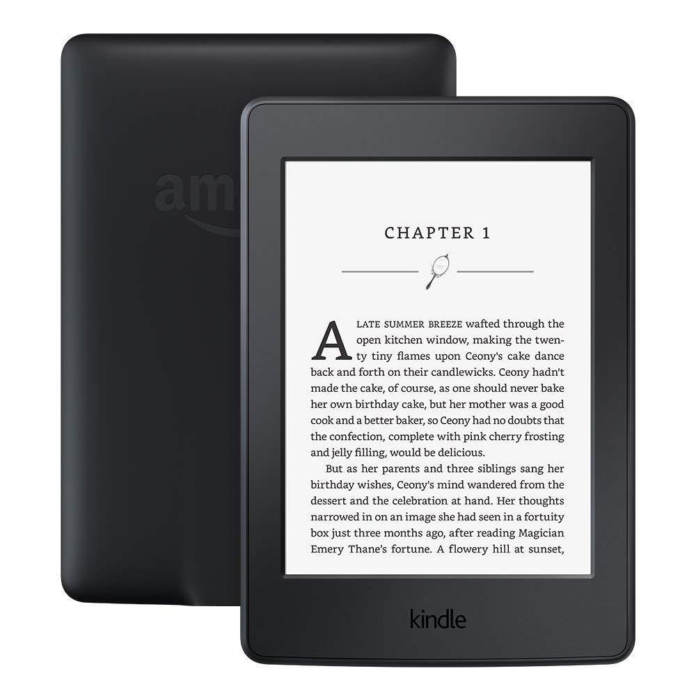 "Kindle Paperwhite E-reader - Black, 6"" High-Resolution Display 300 ppi-(Sealed)!"