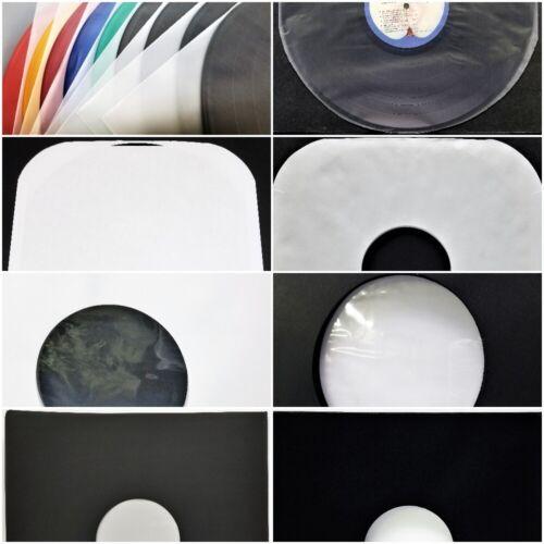 "Inner Sleeves 12"" 33rpm LP DJ Vinyl Record Album Paper Plastic 5 10 25 50 75 100"
